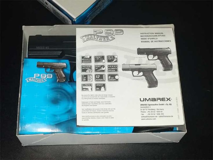 Walther P99 Umarex Bedienungsanleitung