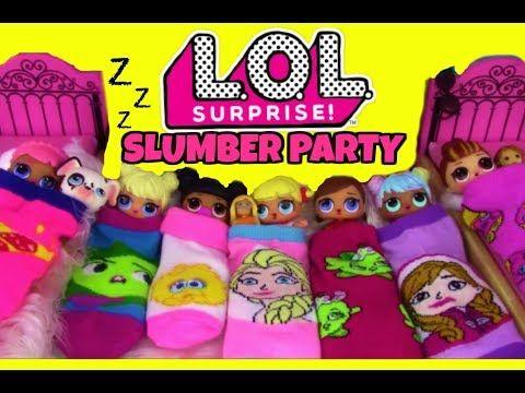 Schimmer und Glanz Babysit LOL Überraschungspuppen Am Pool Wasserrutsche – YouTube   – Special Board