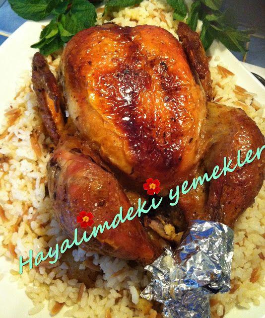 Tavuk Kapama ( Büryan ) Tarifi | Resimli Yemek Tarifleri Hayalimdeki Yemekler