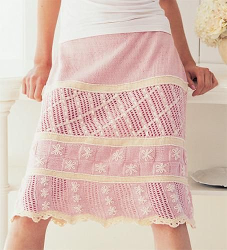 Transition from Summer to Fall with Skirt Knitting ...