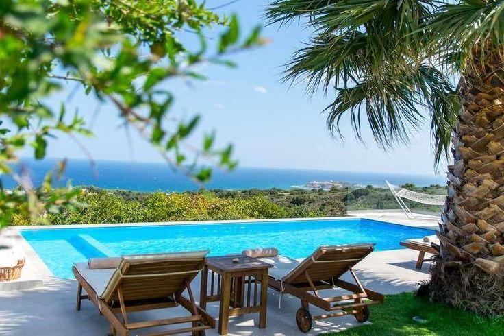 Infinity villa in Violi Charaki, Greece.