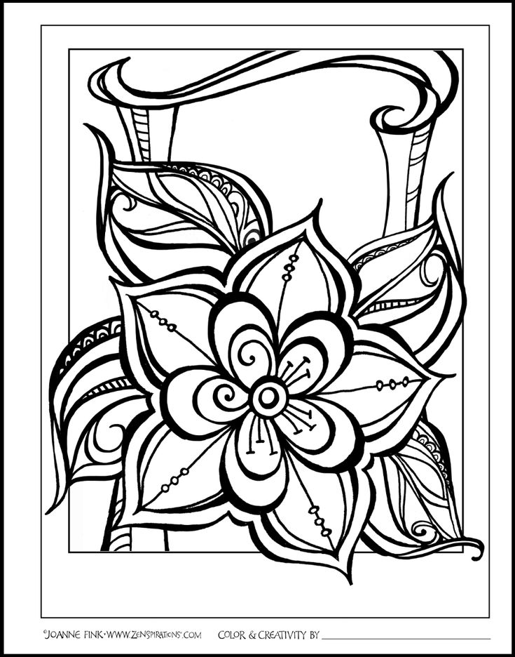 Hi Everyone The Art For My Next Book In ZenspirationsR Create Color Patte