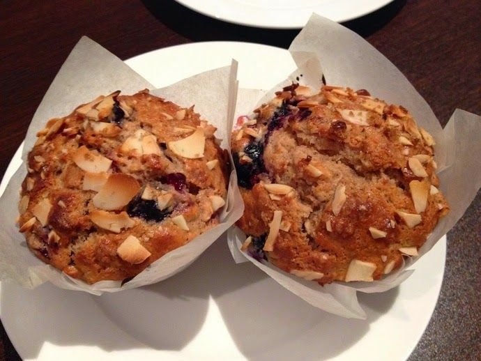 3EggsFull: Crunchy top berry muffins