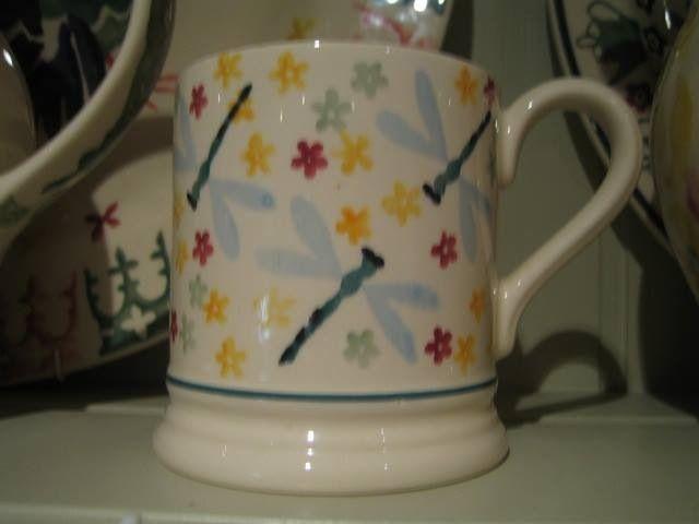 Emma Bridgewater Dragonfly 0.5 Pint Mug.... Absolutely love her mugs!!!