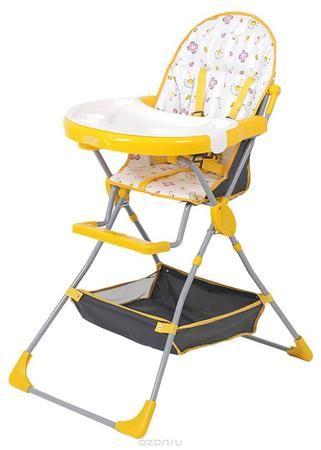 Selby Стульчик для кормления Стрекозы цвет желтый  — 2859р. ---- Ваш малыш уже научился сидеть? Теперь его можно смело сажать в детский стульчик для того, чтобы ему и маме было удобно во время кормления. При выборе стульчика для кормления необходимо обратить внимание на то, насколько он удобен, безопасен и прост в использовании. Детские стульчики можно использовать не только во время еды, но и для совместных развивающих игр с малышом: лепки, рисования, вырезания, наклеивания, игры с кубиками…