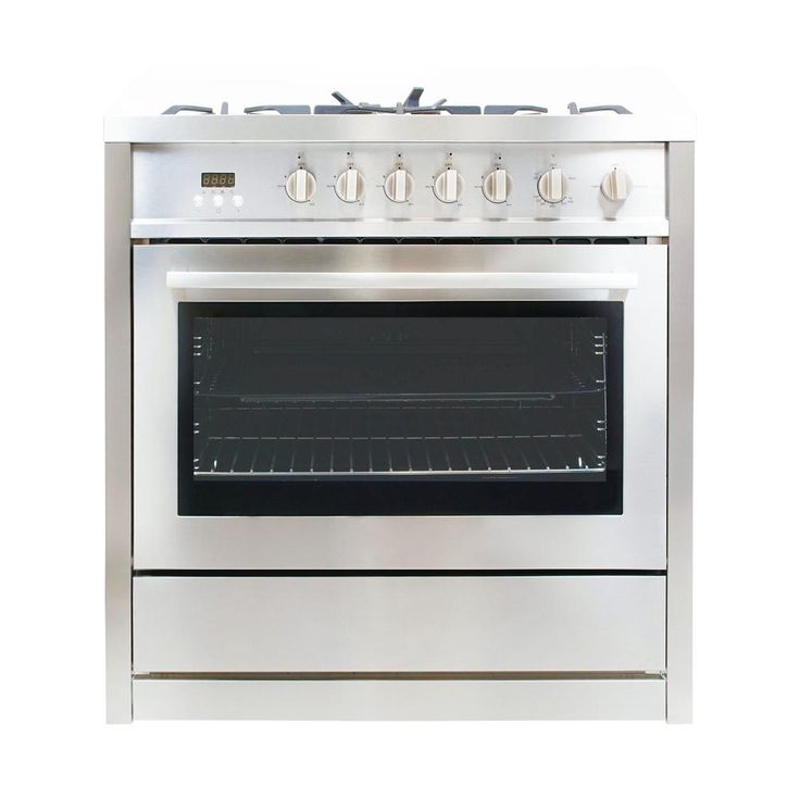 Cosmo 36 in. 3.8 cu. ft. Gas Range with Oven and 5 Burner Cooktop with Heavy Duty Cast Iron Grates in Stainless Steel