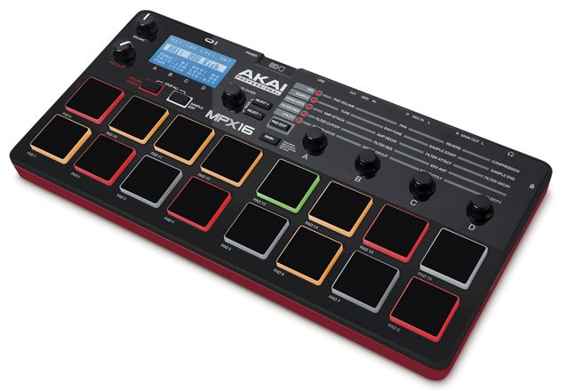 Gearjunkies.com: Akai presenting the MPX16 Sample Recorder and Player