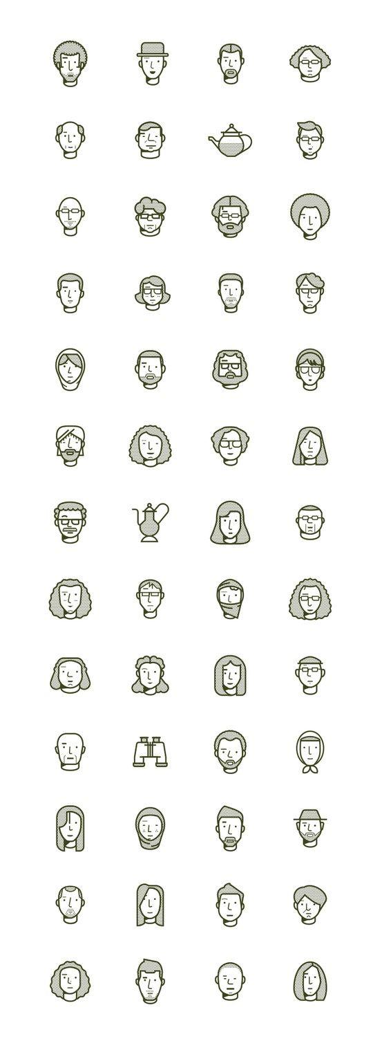 Faces / The Outpost magazine / Romualdo Faura