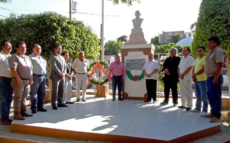 Autoridades y Logias Masónicas recordaron Aniversario de la muerte de Benito Juárez #LosCabos #BCS / http://noticabos.org/2014/07/18/aniversario-muerte-benito-juarez/
