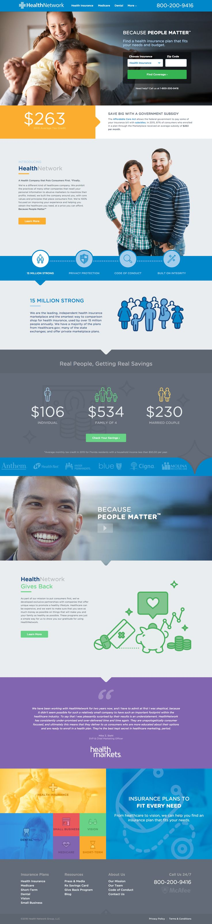 Independent Health Insurance Marketplace, Helping More Than 15 Million Annually - HealthNetwork