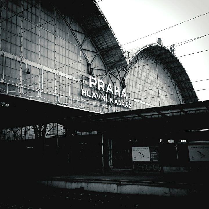 Praha hlavní nádraží | Prague Main Train Station ve městě Praha, Hlavní město Praha