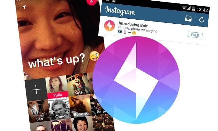 Bolt for iOS/Android Download Released by Instagram; Aims for Snapchat