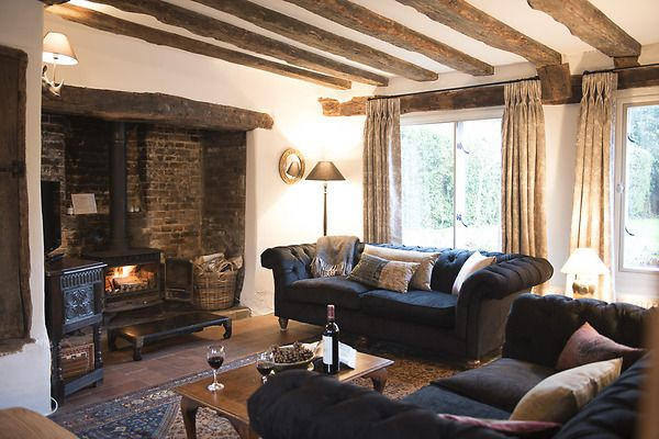 This beautiful country cottage is incredibly stylish yet charming and cosy.
