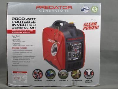 Brand New Predator 200W Quiet Portable Inverter Generator Ship to PR Puerto Rico