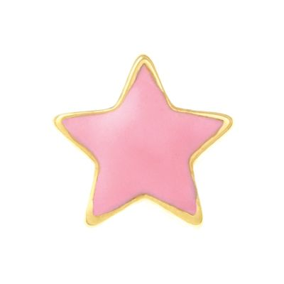 Pink Star Charm #LilyAnneDesigns #Charms #MissLilyCollection #LittleLady