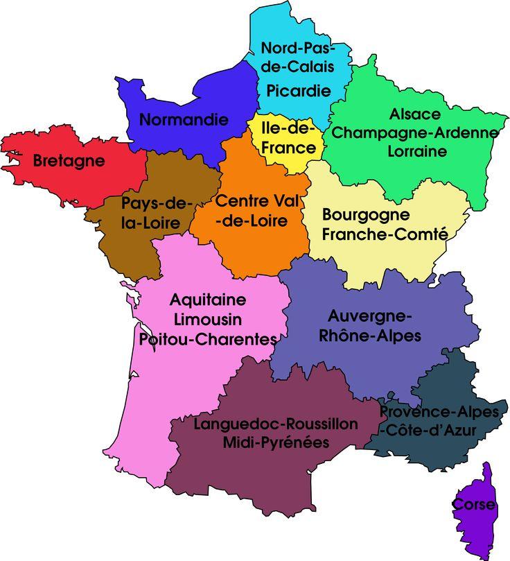 Point sur les nouvelles régions Françaises