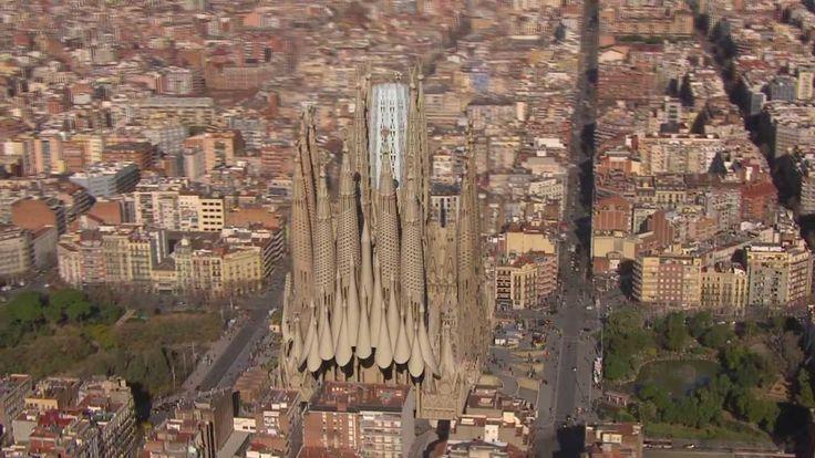 3D Rendering Shows Completion of Gaudí's Sagrada Família Church
