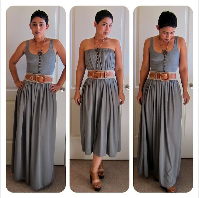 The Crafted Sparrow: 10 Great Summer DIY Maxi Dress & Skirt Tutorials!!