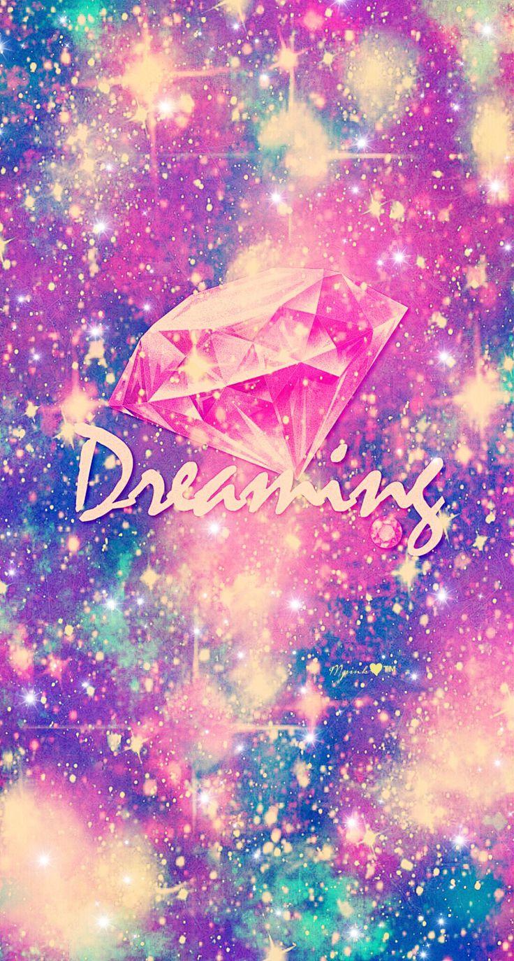 Kawaii Wallpaper Iphone 6 Dreaming Galaxy Wallpaper Androidwallpaper