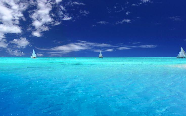 Море, лагуна, небо