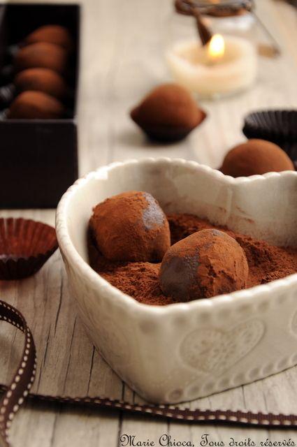"""Mes truffes """"magiques"""", 100% vegan /Saines Gourmandises... par Marie Chioca"""