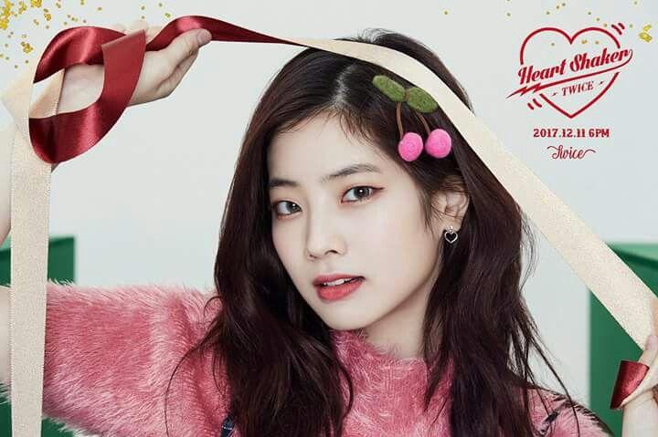 TWICE -1st Album Repackage #Dahyun #Merry&Happy #Heart Shaker