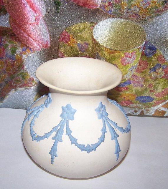 Deco Style ECanada Art Pottery Jasperware Bulbous by ATokenOfLove, $55.00