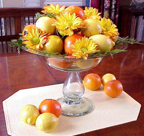 Centerpiece photography ©2001 by Glenna J. Morton, About's Interior Decorating Guide