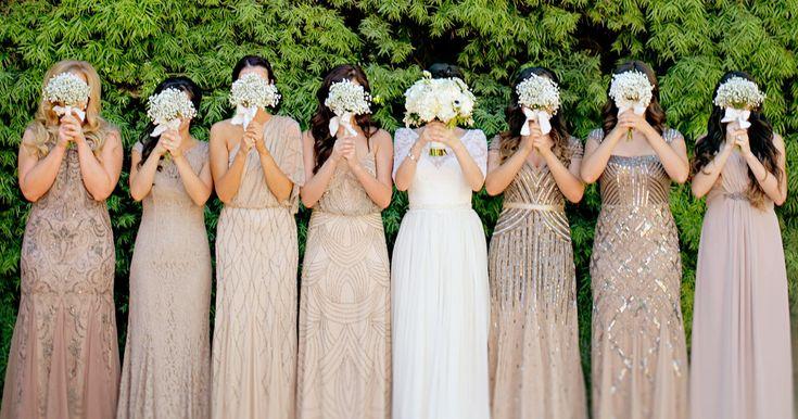 Best 25 Beige Bridesmaids Ideas On Pinterest: 25+ Best Ideas About Sparkly Bridesmaid Dress On Pinterest