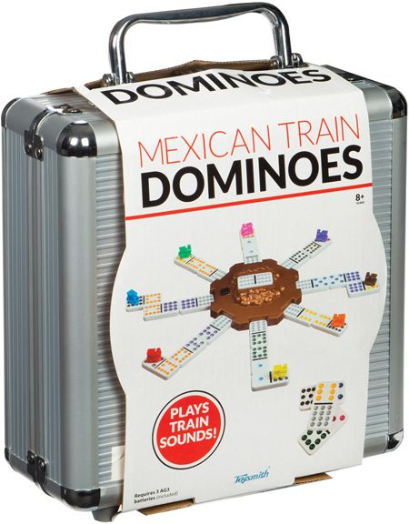 Mexican Train Domino Game by Toysmith - $34.95