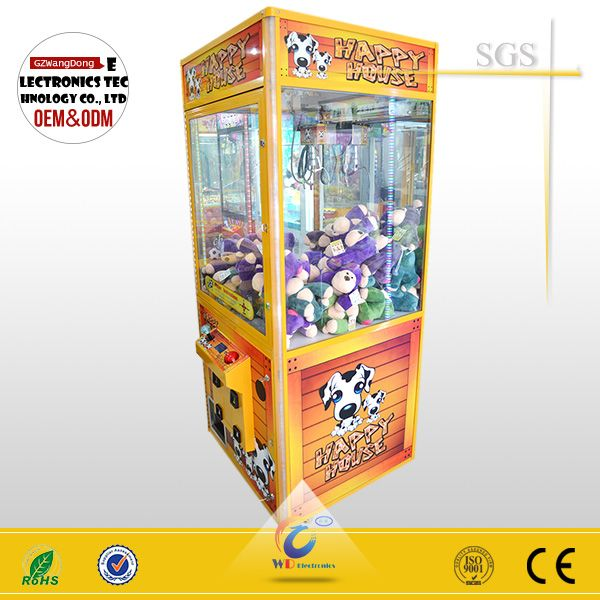 Funshare coin operated prize toy candy crane claw machine/key master kids crane games classical arcade game for sale#crane claw machine for sale#claw machine