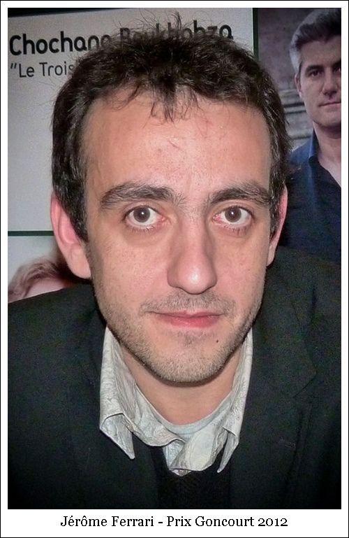 Jérôme Ferrari – Prix Goncourt 2012
