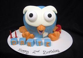 Dante's Birthday Cake... lucky boy.
