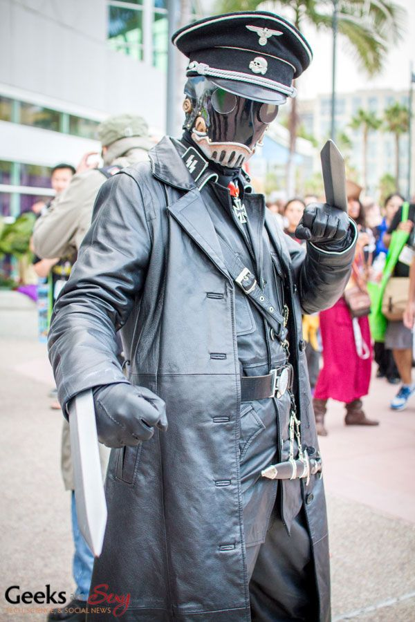 I Try Not To Pin Too Many Cosplays Though Should Probably Start A Board But This One Is Outstanding Karl Ruprecht Kroenen From Hellboy