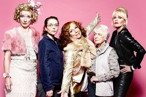 """""""Ab Fab"""" is back...otherwise known as Absolutely Fabulous a comedy on the BBC in Britain! Anyone who considers themselves a fashionista HAS to see this show!!"""