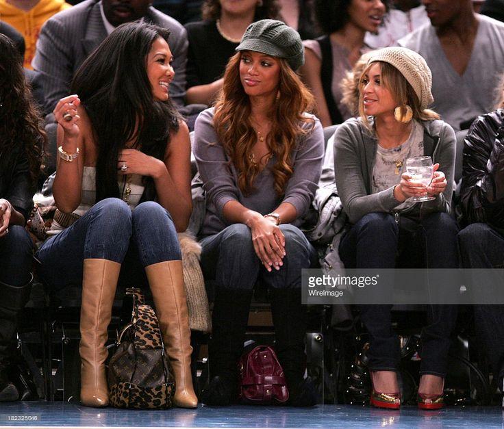 Kimora Lee Simmons, Tyra Banks and Beyonce Knowles
