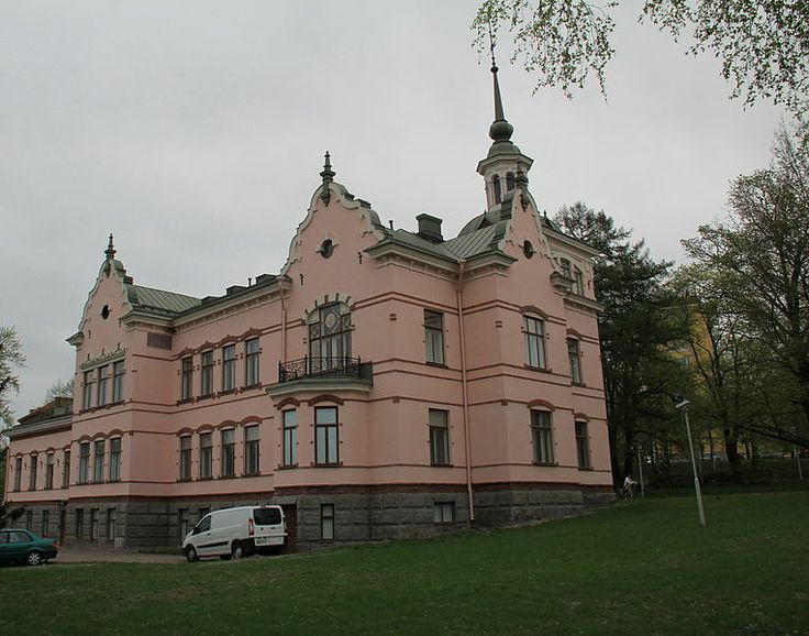 Fellman manor, Lahti, Finland. Completed 1898, architect Hjalmar Åberg (1870-1935). Photo: htm / Wikipedia