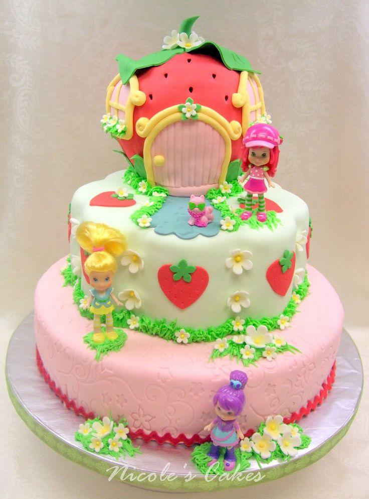 61 best Cakes - Strawberry Shortcake images on Pinterest ...