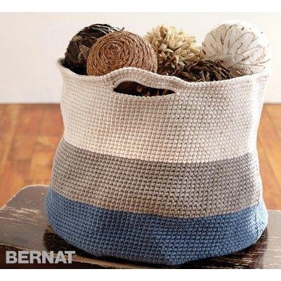 Free Easy Basket Crochet Pattern, thanks so xox ☆ ★ https://uk.pinterest.com/peacefuldoves/