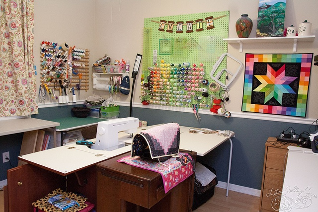 72 best Quilting room ideas images on Pinterest Sewing rooms, Good ideas and Sewing nook