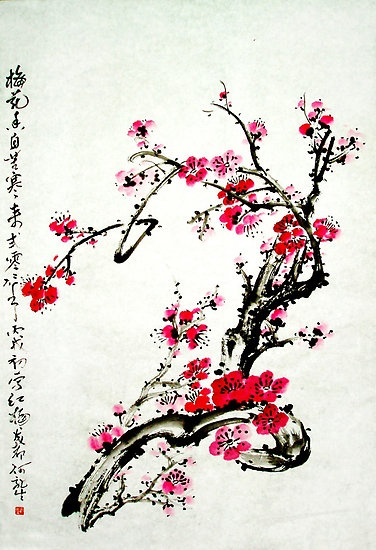 """Chinese painting plum"""