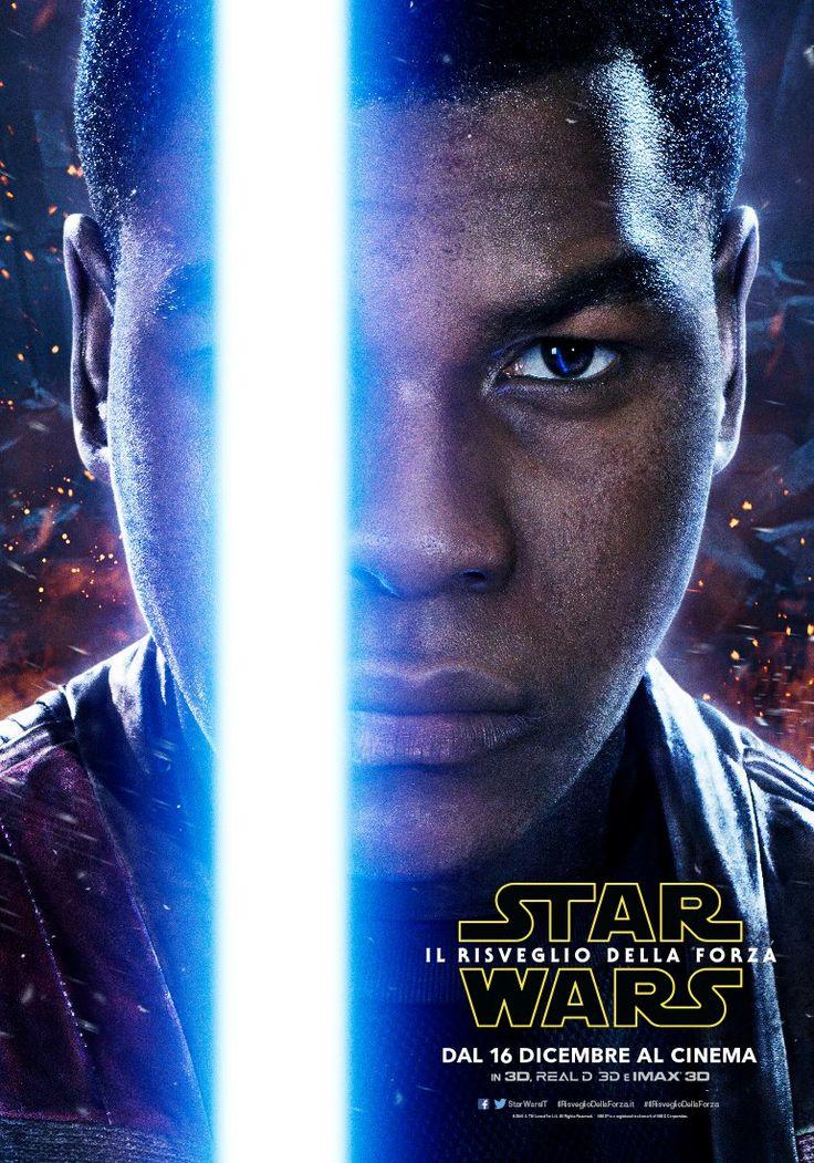Star Wars Il Risveglio della Forza Character Poster - Finn (John Boyega)