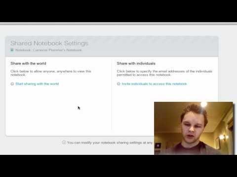 Evernote Tutorial 3 - Notebooks - YouTube