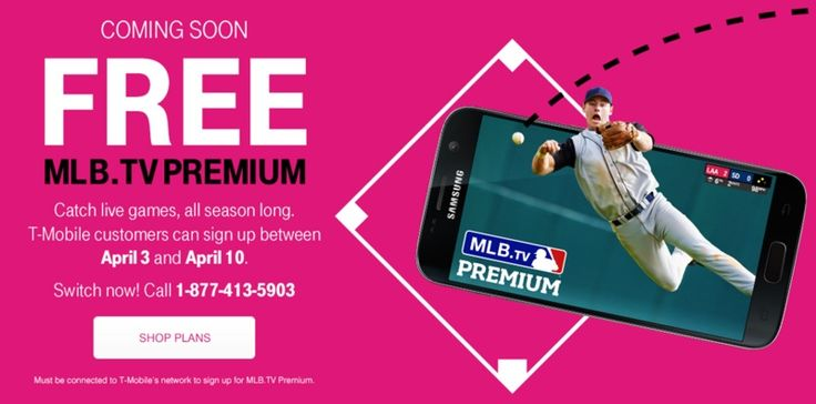 T-Mobile Giving Customers a Free Subscription to MLB.TV Premium - http://www.ipadsadvisor.com/t-mobile-giving-customers-a-free-subscription-to-mlb-tv-premium
