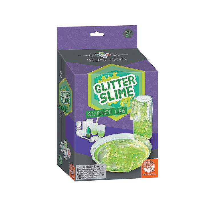 E wants: STEMULATORS:+Glitter+Slime+Lab+-+Mindware.com