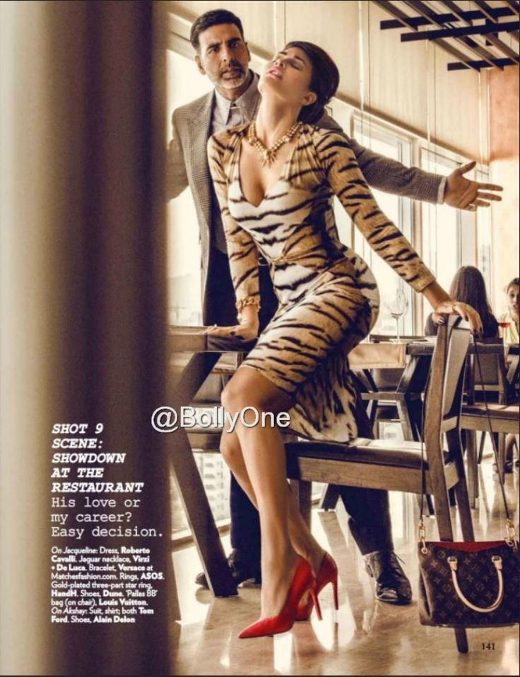 Jacqueline Fernandez, Akshay & Sidharth Malhotra Vogue July 2015 Pictures