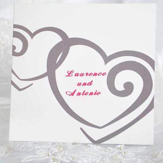 Herzen Hochzeit Inspiration    Süß Hochzeitseinladung 2014 Mit Herzen  Design · Lustige EinladungenEinladungen ...