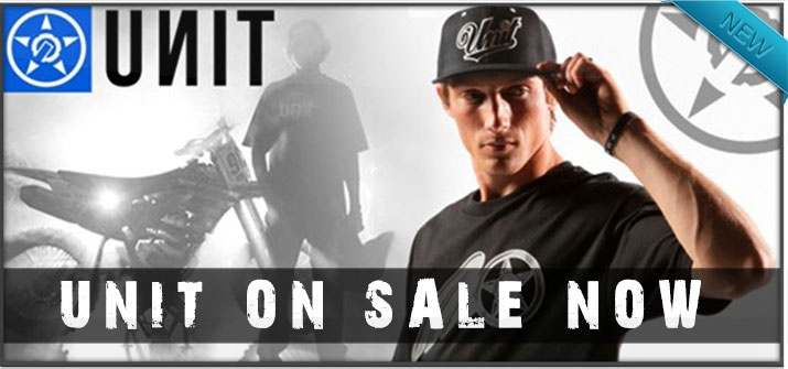 Unit Riders new collection just arrived! SALE going on now.