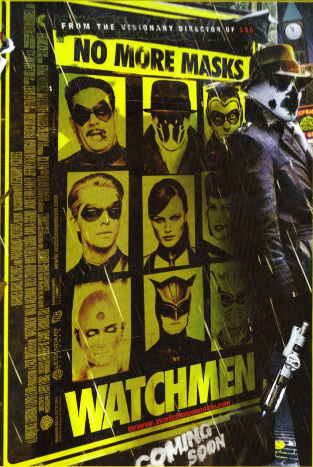 Watchmen - a criminally hated movie! it's perfect as a stand alone…not so much as a counterpart to the comics.
