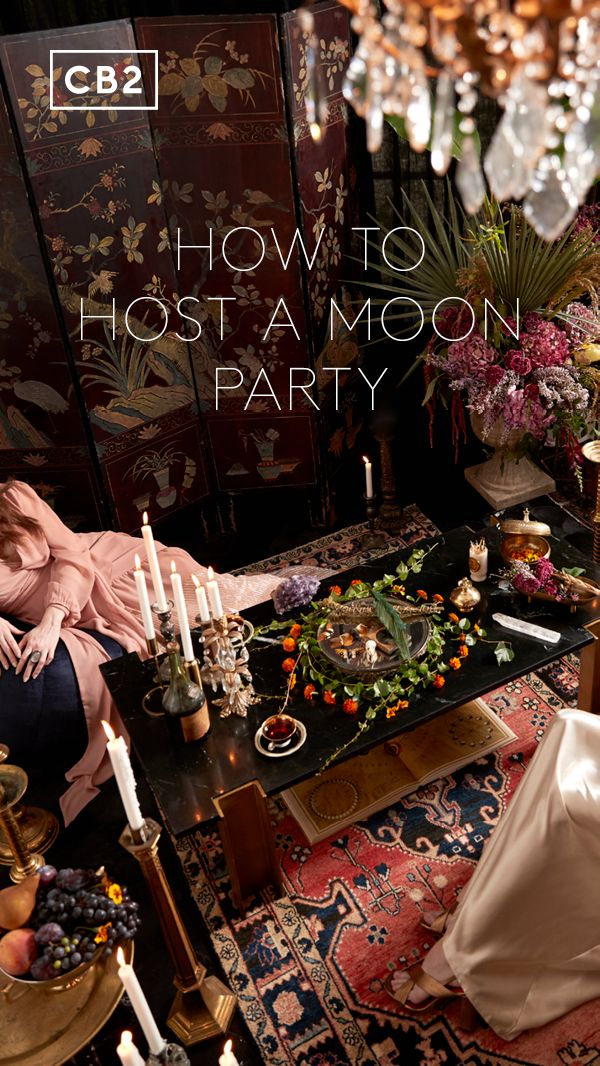 Halloween entertaining gets witchy: how to host a full moon party